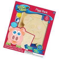 MasterPieces Works of Ahhh Piggy Bank Wood Paint Kit