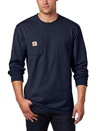 Carhartt Men's Workwear Pocket Long Sleeve T-Shirt Midweight