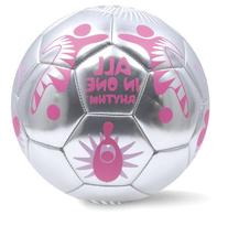 World Cup Soccer Pink World 2014 Ball, Size 3, Silver