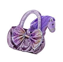 Aurora World Sea Sparkles Plush Pet Carrier, Marino Sea