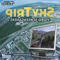 World SkyTrip Video Screensavers