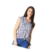 Democracy Woven Front Top