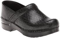 Women's Dansko 'Professional' Woven Leather Clog, Size 7.5-