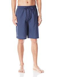 Nautica Men's Woven Mediterranean Dot Short, Peacoat, Large