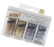 American Crafts 4-Pack WOW Extra Fine Glitter, Everyday 1