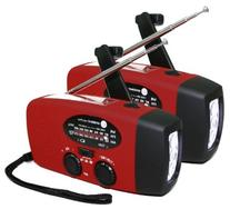 Ambient Weather WR-088-X2-KIT Emergency Solar Hand Crank AM/