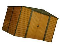 Arrow WR108 Woodridge EG Steel Storage Shed, 10 by 8-Feet