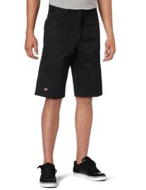 Dickies Mens 13 Inch Relaxed Fit Multi-Pocket Short, Black,