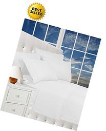 Elegance Linen® Wrinkle Resistant Luxury 6-Piece Bed Sheet
