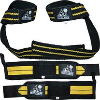 Nordic Lifting Wrist Wraps and Lifting Straps Bundle  -