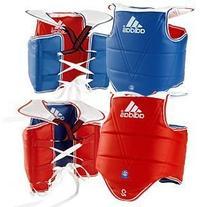 Adidas WTF TaeKwonDo Solid Reversible Chest Protector -