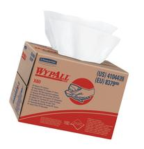Wypall X80 Reusable Wipes , Extended Use Wipers BRAG Box Format, White, 160 Sheets / Box; 1 Box / Case