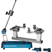 Gamma X-6 Tennis Stringing Machine, Blue/Silver