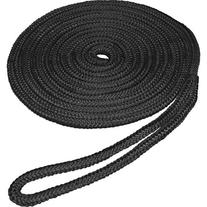 "SeaSense Double Braid Nylon Dock Line, 3/8"" x 15', 10"" Eye,"