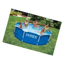 "Intex 10' x 30"" Metal Frame Swimming Pool"