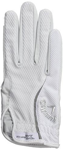 Callaway Women's X Spann Golf Gloves, Medium, Left Hand
