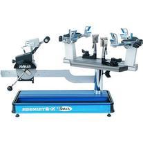Gamma X-ST Tennis Stringing Machine, Blue/Silver
