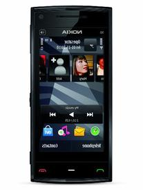 Nokia X6 Unlocked GSM Phone, 16GB, Black