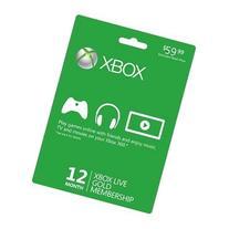 MICROSOFT CORPORATION Microsoft Xbox Live Gold Card - 12