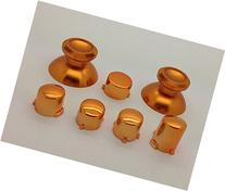 New Xbox One Controller Gold Chrome ABXY+Guide Buttons and