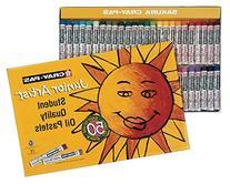 Sakura XEP50 50-Piece Cray-Pas Junior Artist Assorted Color