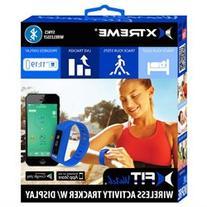Xtreme xFit Watch Blue Wireless Activity Tracker