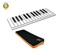 CME Xkey 25-key Ultra-slim USB Controller Keyboard Silver