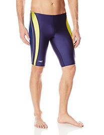 Speedo Men's Xtra Life Lycra Rapid Splice Jammer Swimsuit,