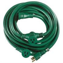 Yard Master 3030 25-Foot 3-Outlet Garden Extension Cord with