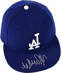 Yasiel Puig Los Angeles Dodgers Autographed New Era Cap -