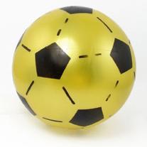 Yellow Black PVC Soccer Football Ball Toy for Children Kids