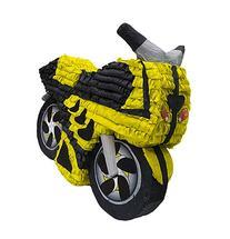 Yellow Motorcycle Pinata