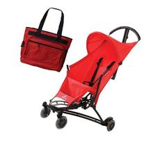 Quinny YEZZ Lightweight Stroller with Diaper Bag - Red