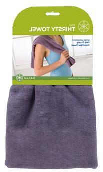 Gaiam Yoga Hand Towel, Deep Purple
