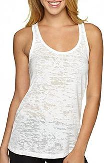 Yoga Tank Top - Burnout Racerback