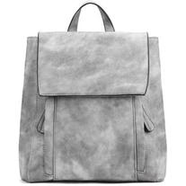Yoins Grey Backpack with Two Front Pockets