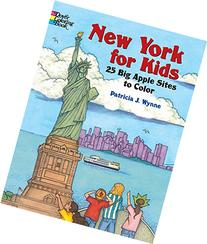 New York for Kids : 25 Big Apple Sites to Color