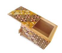 Yosegi Puzzle Box 3 sun - 7 steps