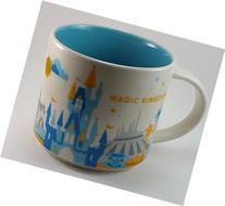 Starbucks You Are Here Collection Magic Kingdom Disney Parks 2015 14oz Mug
