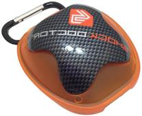 Shock Doctor Youth Anti-Microbial Mouthguard Case, Orange