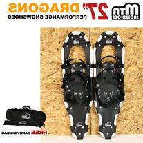 "New MTN Snowshoes Man Woman Kid Youth 27"" WP +black Nordic"