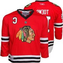 Girl's Youth Chicago Blackhawks Jonathan Toews Reebok Red