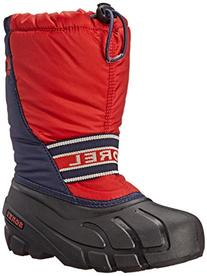 Sorel Youth Cub S R Cold Weather Boot , Sail Red, 13 M US