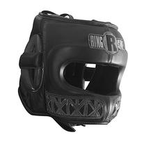 Ringside Youth Face Saver Headgear, Black, Medium