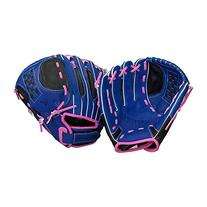 Easton Youth Fastpitch Series NYFP1100 Glove , Blue/Pink,