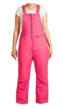 Arctix Insulated Youth Snow Bib Overalls, Fuchsia, Small