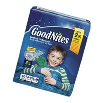 Bedtime Pants for Boys, Small/Medium, 40 count