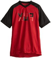 Fox Boy's Youth Ranger Jersey, Red/Black, Large
