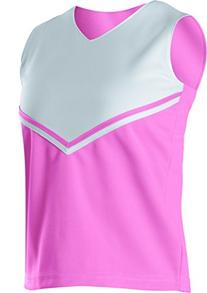 Alleson Athletic Girl's V-Shell Cheerleaders Uniform Shells