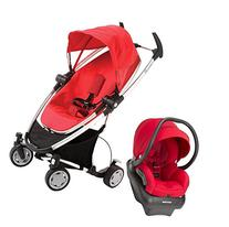 Quinny Zapp Xtra Mico AP Travel System, Rebel Red - Red